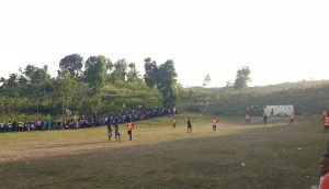 Haiti soccer match