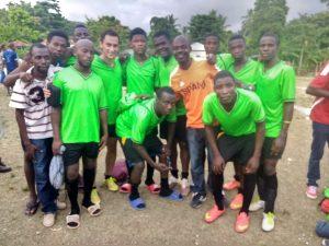 Haiti soccer team photo