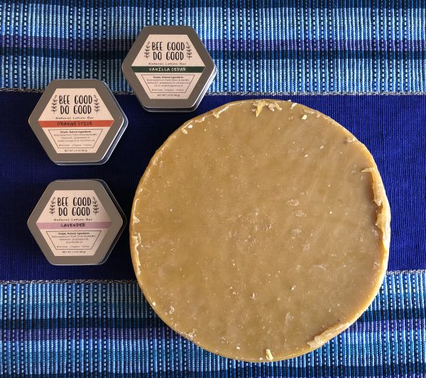 beeswax with lotion bars