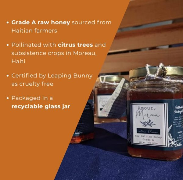 About Haitian Citrus Blossom Honey from Vetiver Solutions